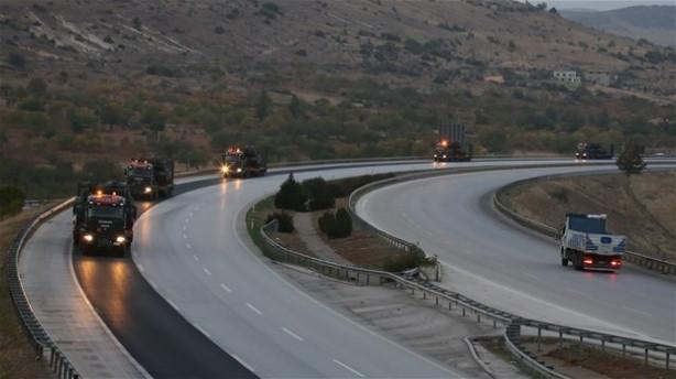 Suriye sınırına tank sevkıyatı!