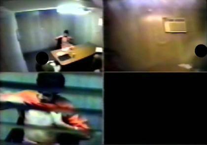 Guantanamo'dan ilk sorgulama görüntüsü