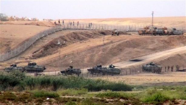 Mardin Suriye sınırında gerginlik!