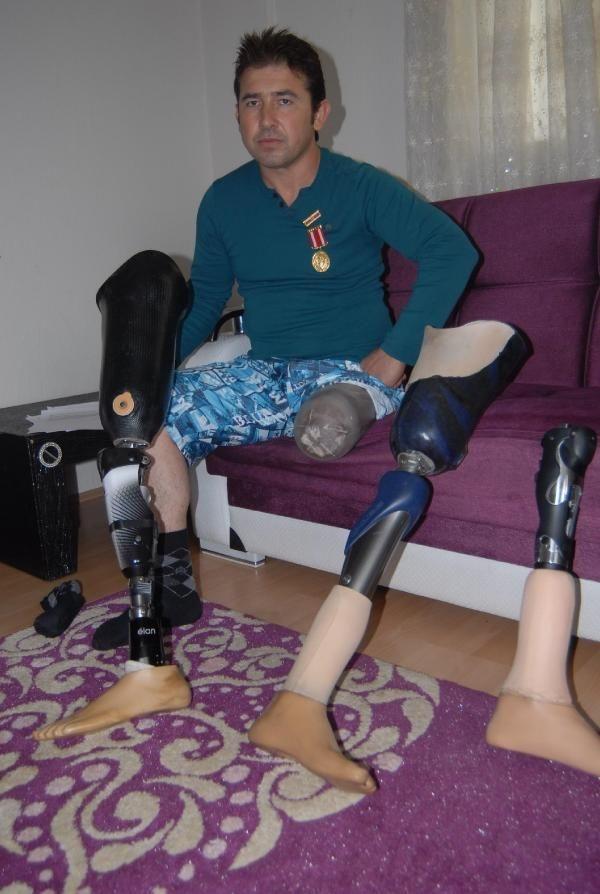 Gazinin protez bacağına haciz!..