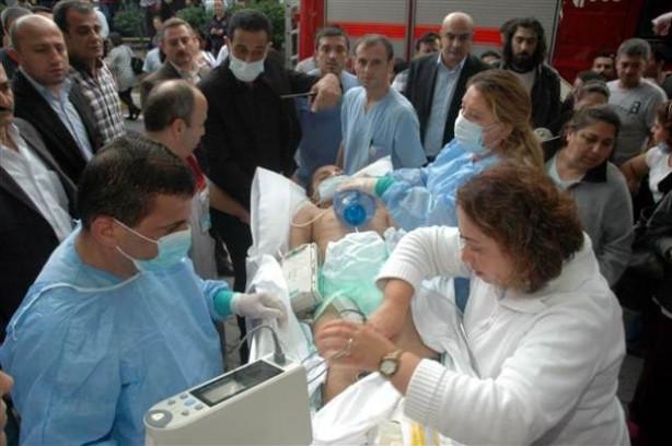 İÜ İstanbul Tıp Fakültesi Hastanesinde yangın