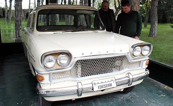 İlk yerli Türk otomobil Devrim'e 5 yılda 163 bin ziyaretçi