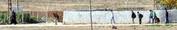 Kobani'ye sınırımızdan Peşmergeden önce ÖSO geçti