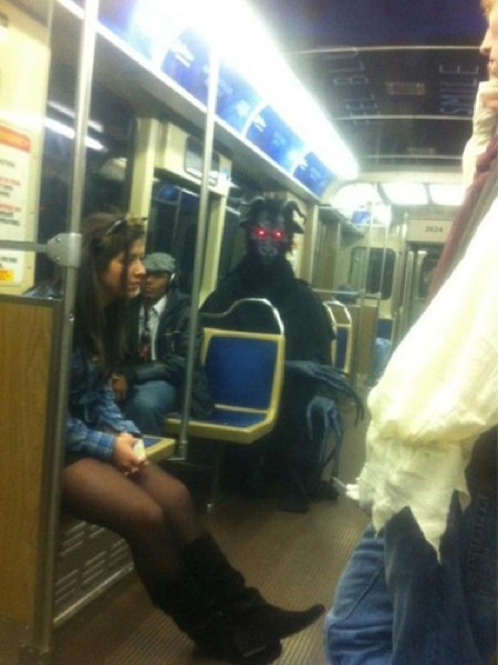 Metronun en garip insanları