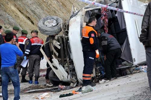 17 kişinin öldüğü kazadan yaralı kurtuldu