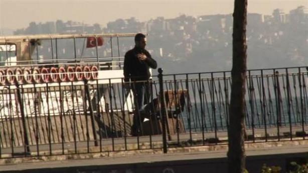 Sarıyer'de silahlı kişi paniği