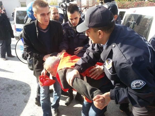 Ankara'da polis müdahalesi: 17 gözaltı