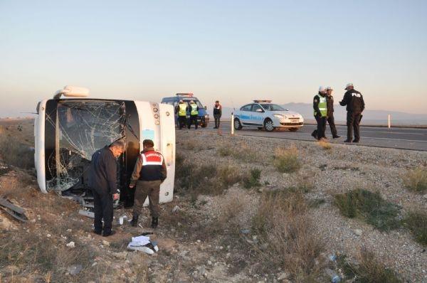 Bir otobüs kazası daha: 33 yaralı