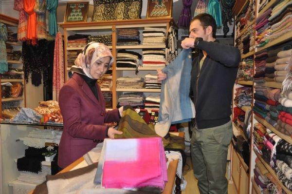 Başbakan Davutoğlu'nun eşi Sare Davutoğlu, Bursa'da