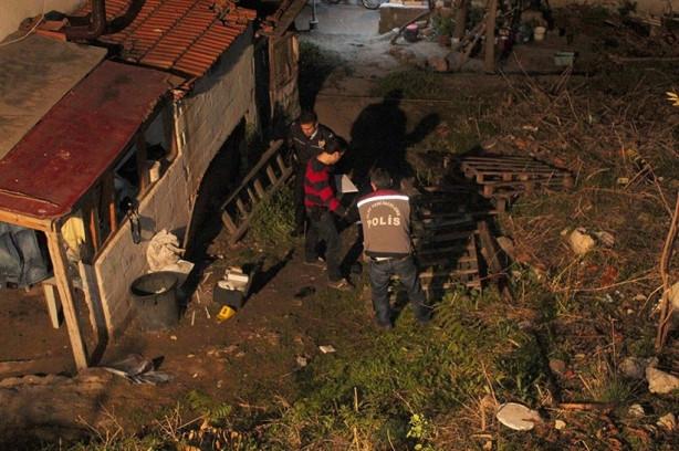 İzmir'de baltalı dehşeti