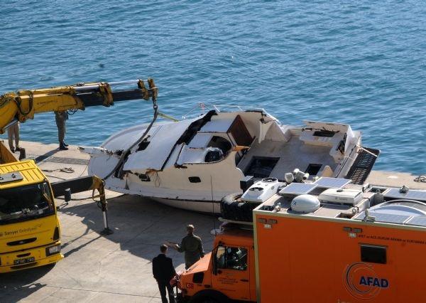 İstanbul'da tekne faciası