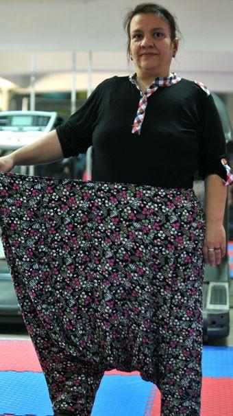 Boşandığı kocasına inat 8 ayda 65 kilo verdi