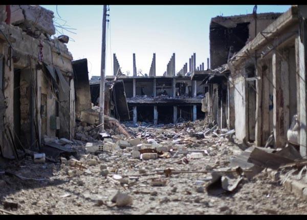 Kobani harabeye döndü