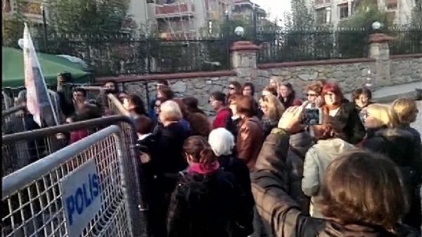 Validebağ'da eylemcilere müdahale