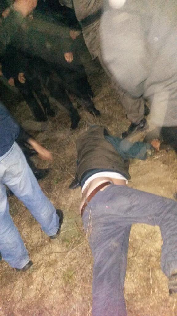 Köylü kadınlar güvenlikcileri dövmüş!