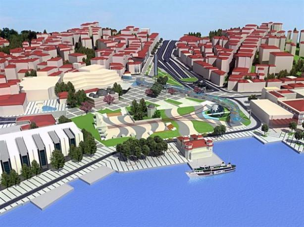 Beşiktaş Meydanı bu hale gelecek!