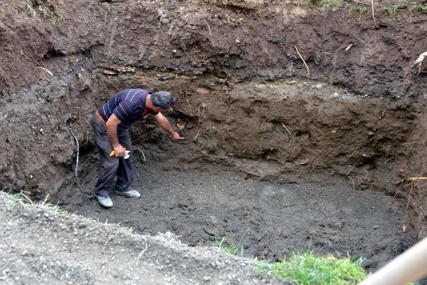 Doğalgaz çalışmasında insan kemikleri ortaya çıktı