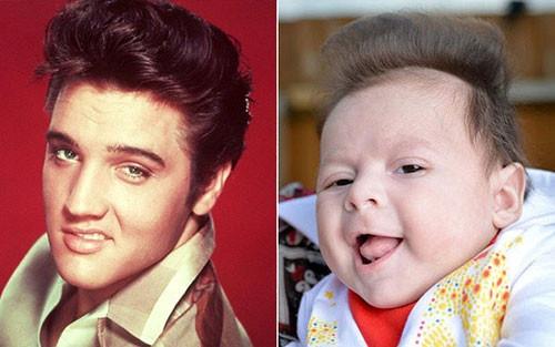 İfadeleri fena halde ünlülere benzeyen bebekler