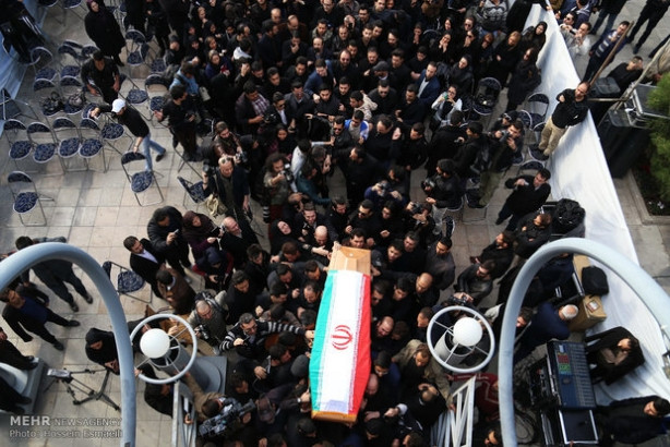 İran'ın Tarkan'ı Morteza son yolculuğuna uğurlandı