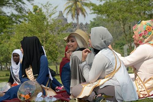 Miss World Muslimah yarışmasının finalistleri