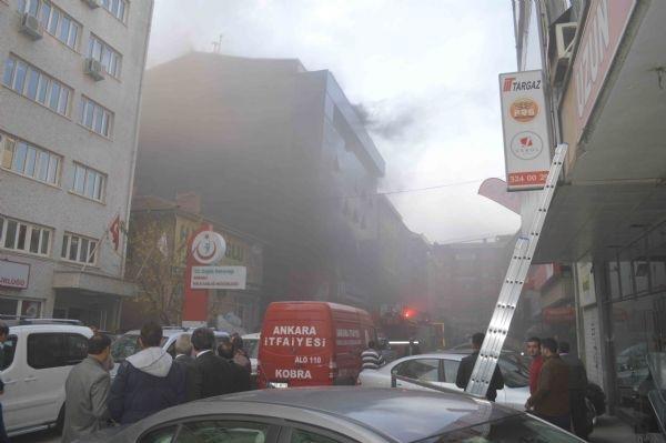 Halk Sağlığı Müdürlüğü'nde yangın