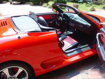 Ferrari görünümlü Toyota
