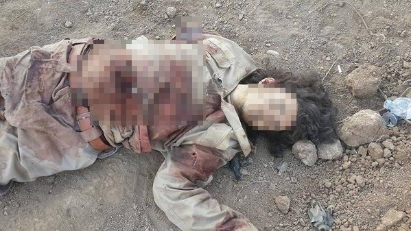Kobani'deki katliamlardan kareler (+18)