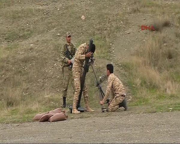 Türk askeri peşmergeyi böyle eğitiyor