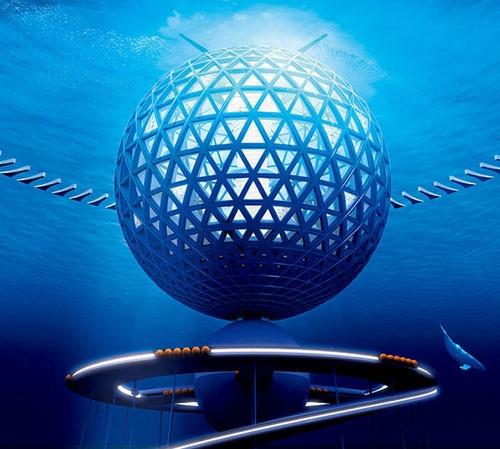 Japonlar 'Modern Atlantis' inşa ediyor