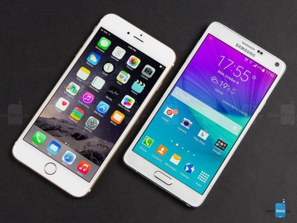 İphone 6 ile Galaxy Note 4 karşılaştırması