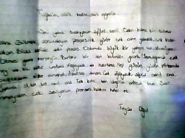 Veda mektubu yazıp ortadan kayboldular