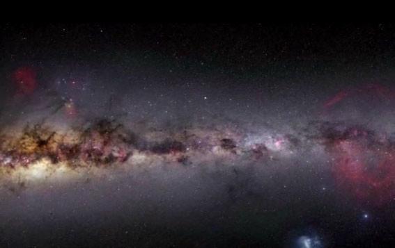 Gökyüzündeki renk cümbüşü