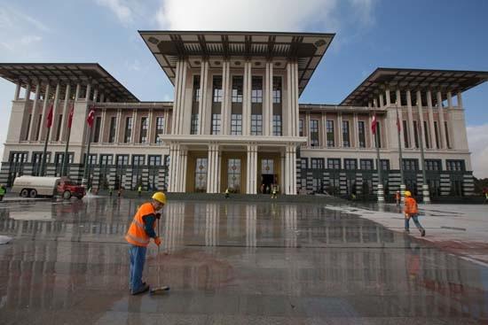 İşte AK Saray'ın hiç görülmemiş fotoğrafları