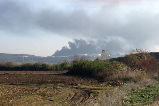 BOTAŞ'ın Ceyhan tesislerinde büyük yangın