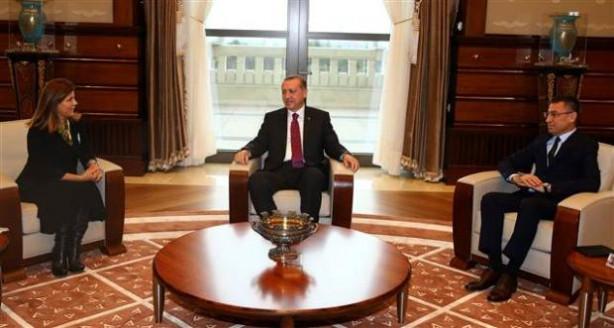 Hülya Avşar'dan cumhurbaşkanlığı sarayı çıkışı açıklama