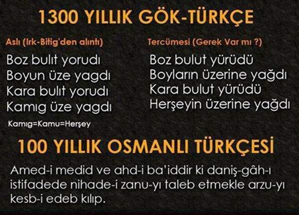 Bunlar da zorunlu Osmanlıca capsleri