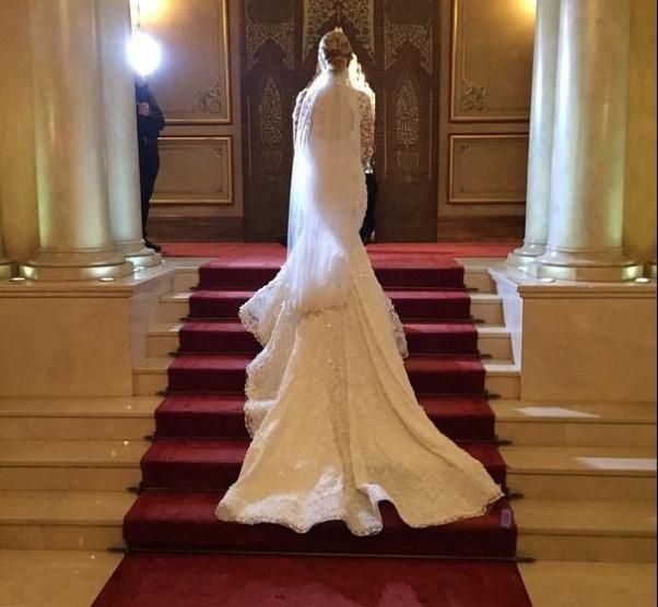 Ece Erken ile Serkan Uçar düğün yaptı