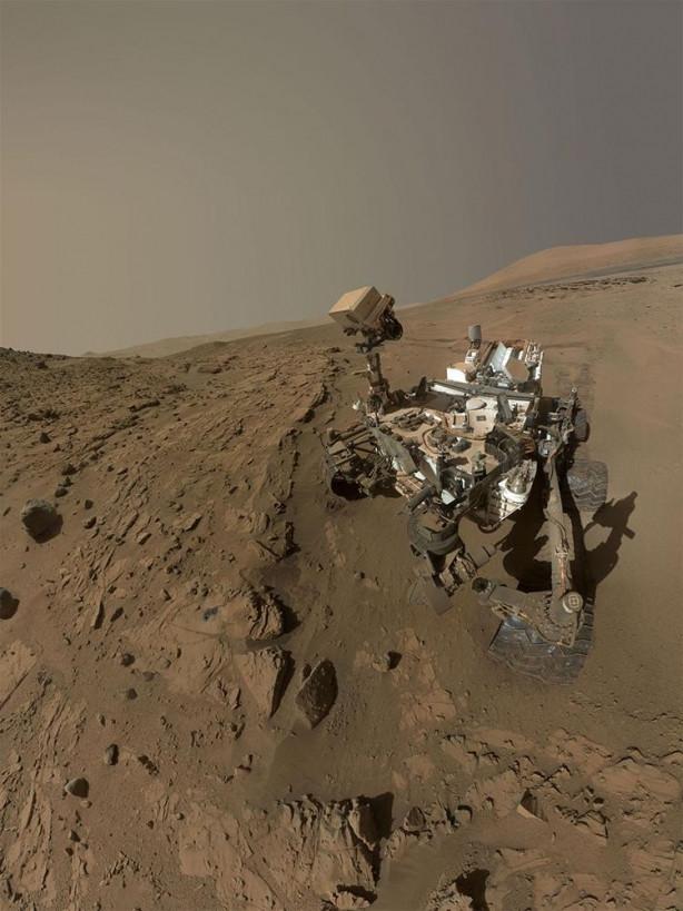 Mars'ta dolaşan 'Merak'ın yeni keşfi