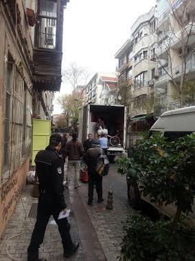 Caferağa Mahalle Evi boşaltılıyor