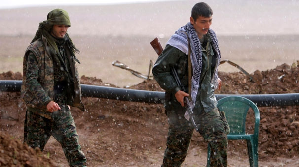 YPG'nin kampı görüntülendi!