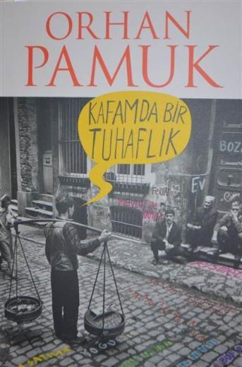 Orhan Pamuk 'Kafamda Bir Tuhaflık' isimli kitabını imzaladı