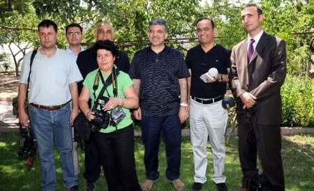 Abdullah Gül baba evinde çok rahat !