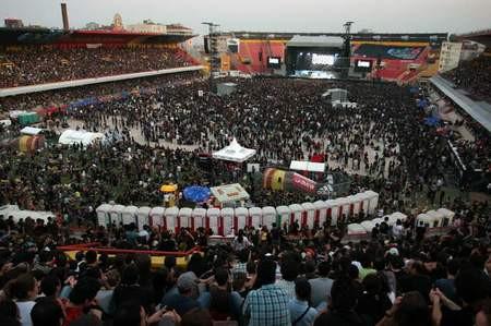 Metallica İstanbulu salladı!