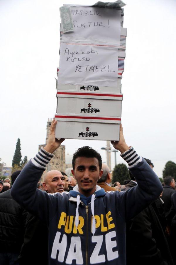 Türkiye çapında '17 Aralık' protestoları...