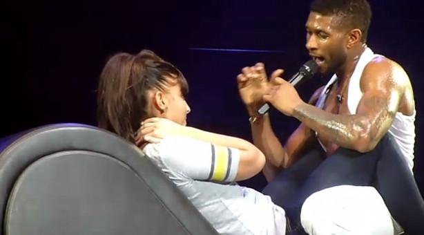 Usher'a şaşırtan teklif