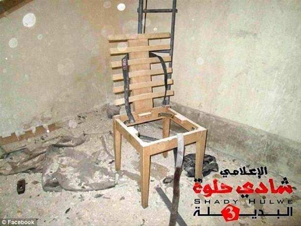 IŞİD'in hapishanesi görüntülendi