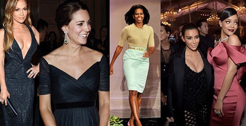 2014'ün en stil kadınları