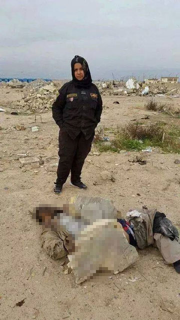 IŞİD'in korkulu rüyası kadın militanlar