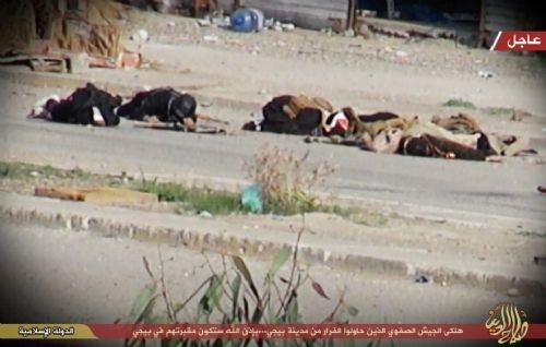 IŞİD böyle pusuya düşürdü