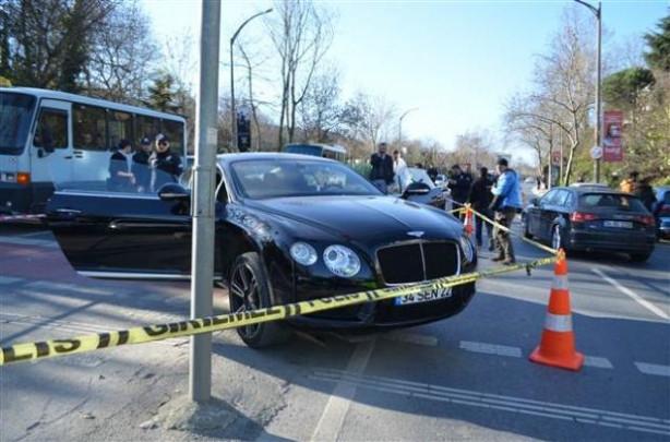İstanbul'da lüks otomobilde infaz